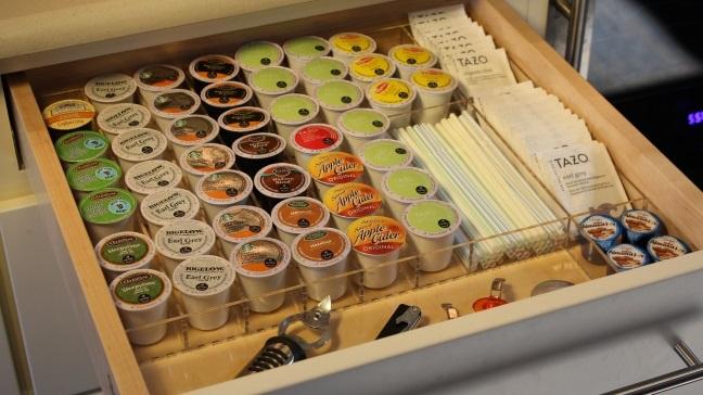 K Cup Drawer Organizer Custom Acrylic Drawer Organizers