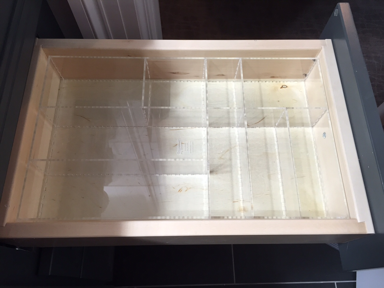 Organize My Drawer Custom Acrylic Drawer Organizers