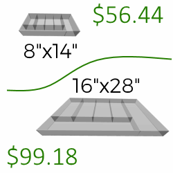 Dynamic Pricing Smaller is Less Expensive