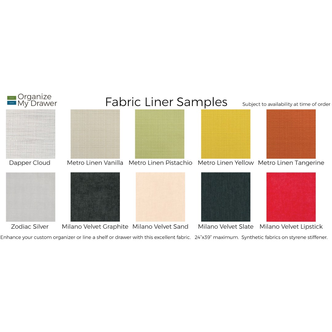 Free Fabric Liner Sample Card