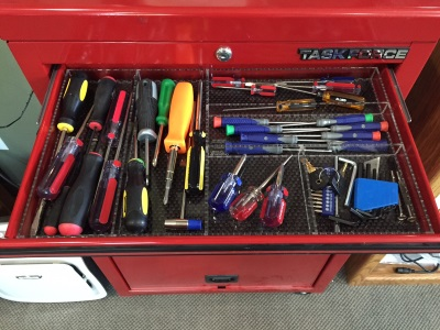 Tool Chest Organizer Custom Acrylic Drawer Organizers