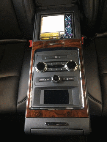 Custom Acrylic Organizers Center Console