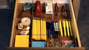 Organized Desk Drawer