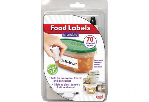 Erasable Food Labels (with marker)