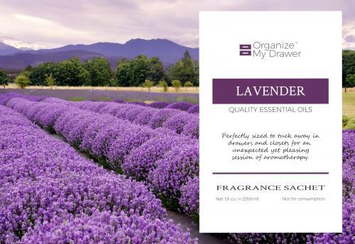 Lavender Scented Fragrance Essential Oil Sachet