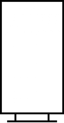 quarter page flyer holder vertical custom acrylic drawer organizers