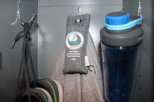 Bamboo Charcoal Air Purifier Bag Gym Locker