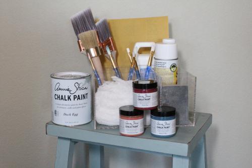 Chalk Paint Organizer