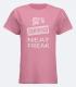 Neat Freak, Ladies T-Shirt, Pink