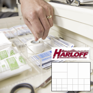 Drawer Dividers for Harloff Mini Carts