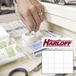Drawer Dividers for Harloff Classic and Universal Carts