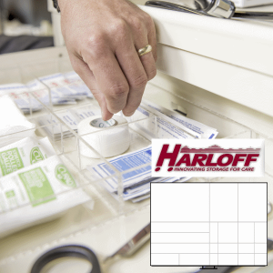 Drawer Dividers for Harloff MR Conditional Carts