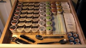 K-Cup Drawer Organizer