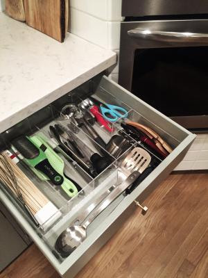 Kim's Kitchen Utensil Organizer