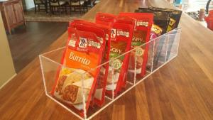 Seasoning Packet Tray Organizer
