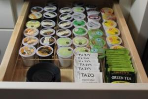 K Cup & Tea Bag Organizer