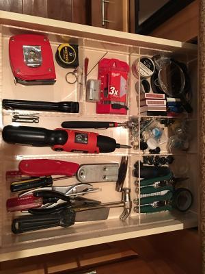 Kitchen junk drawer design your for Kitchen junk drawer
